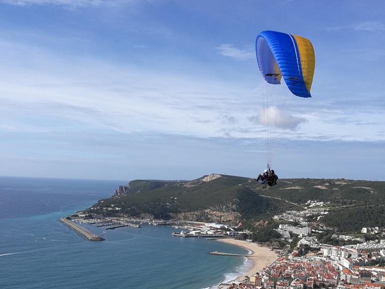 Paragliding Sesimbra
